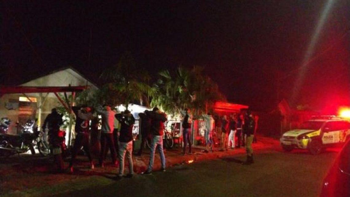 Em meio a pandemia, polícia acaba com festa em Capitão