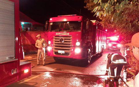 Incêndio é registrado em Francisco Beltrão nesta sexta-feira