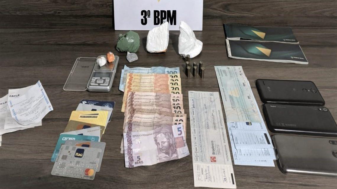 Ocorrência de tráfico de drogas é registrada no centro de Pato Branco