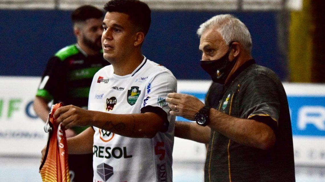 De virada, Marreco Futsal perde a segunda partida na Liga Nacional
