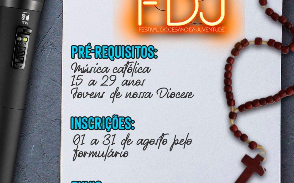 Vem aí o Festival Diocesano da Juventude de Músicas Católicas