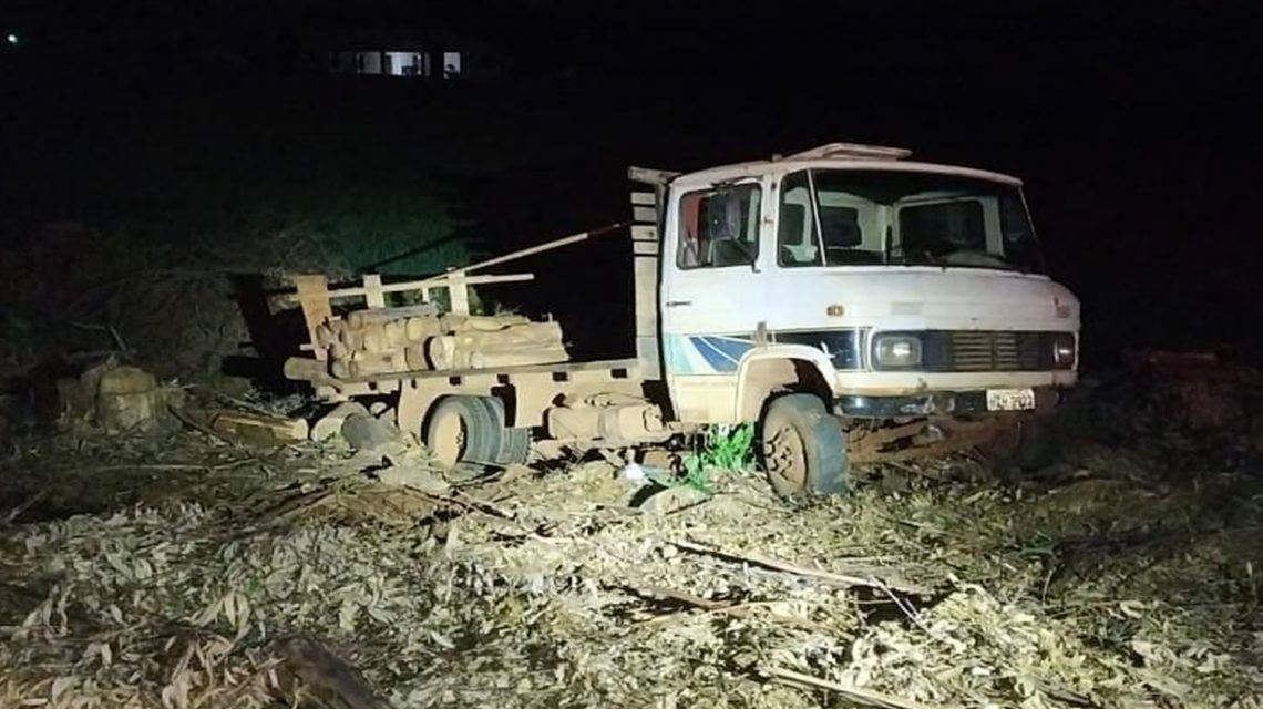 Polícia Militar recupera caminhão furtado em Dois Vizinhos