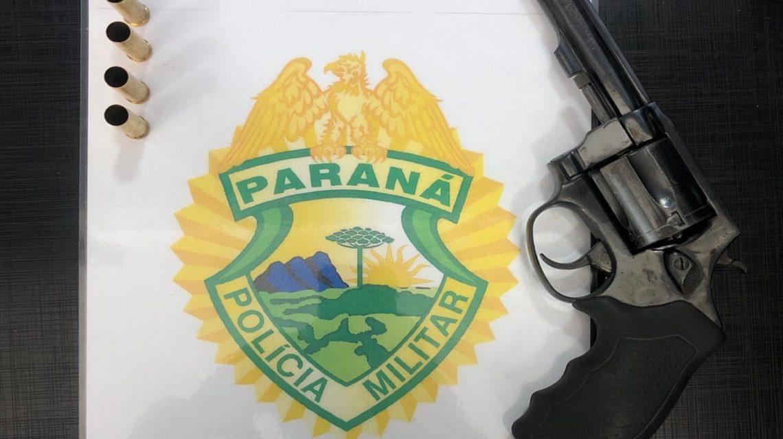 Homem é preso por porte de arma em Rio Bonito do Iguaçu