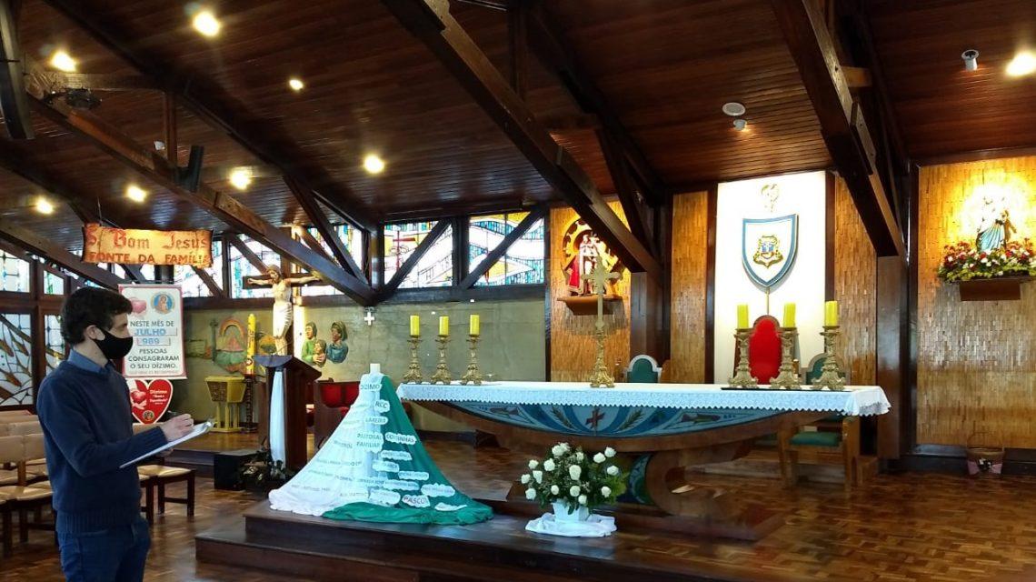 Catedral Senhor Bom Jesus passará por avaliação em sua arquitetura sacra