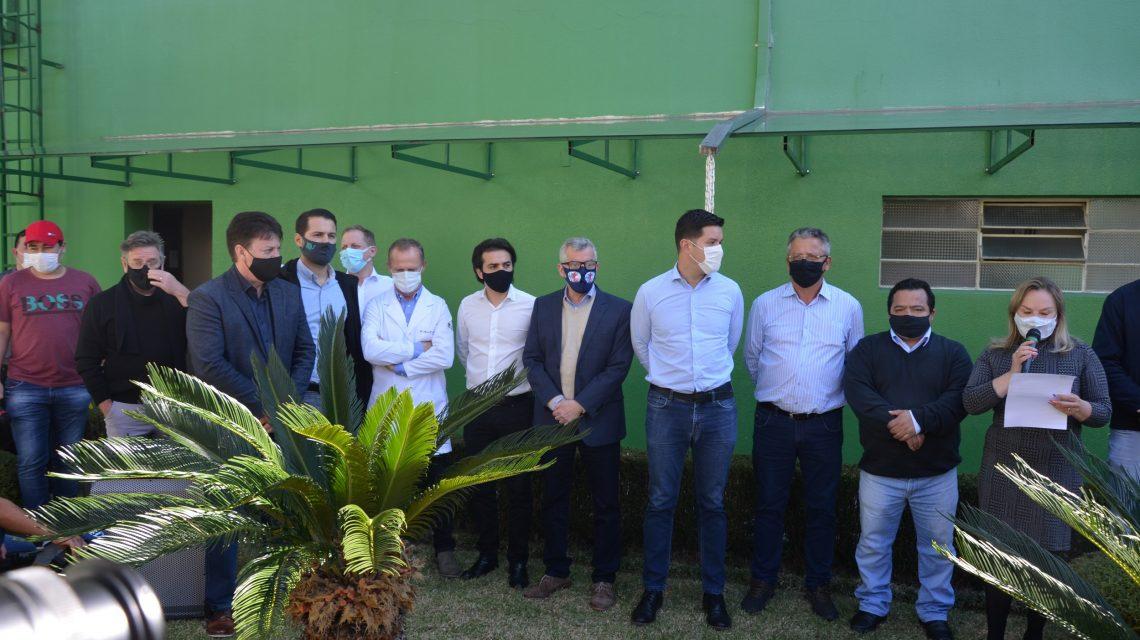 Governo do Estado entrega equipamentos para Hospital de Palmas