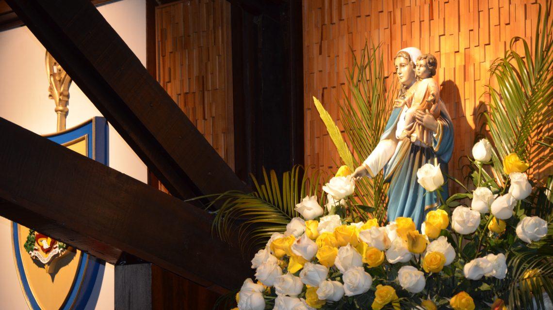 Imagem de Nossa Senhora da Palma é entronizada na Catedral Senhor Bom Jesus