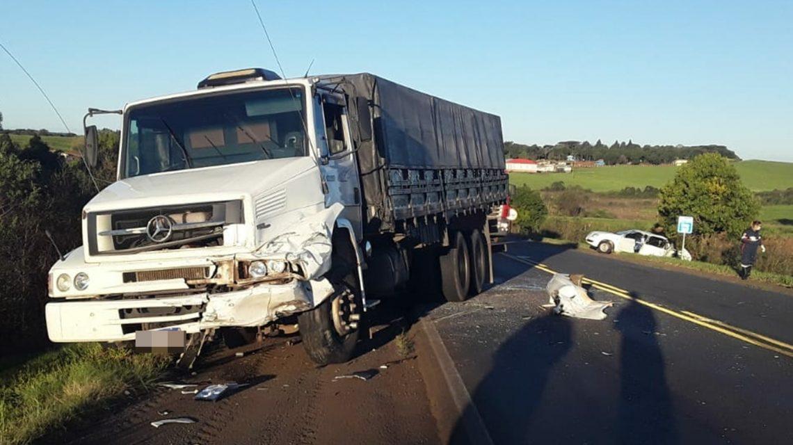 Homem de 52 anos morre em acidente na PR-280, próximo de Clevelândia