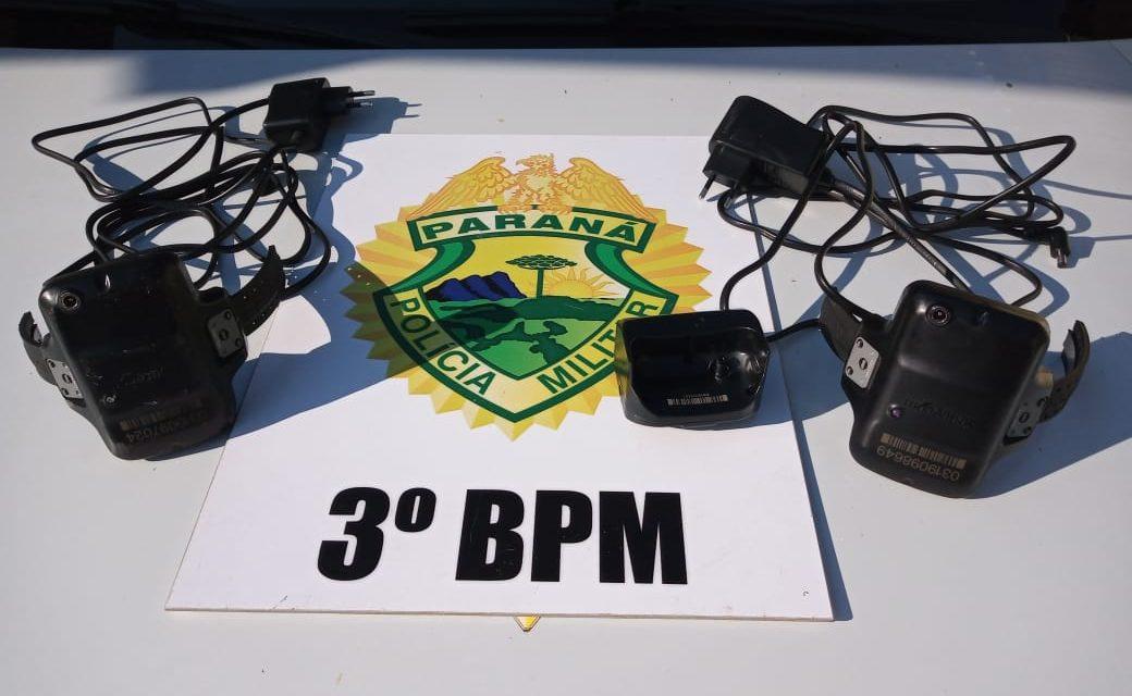 Polícia Militar de Palmas prende dois indivíduos após romperem tornozeleira