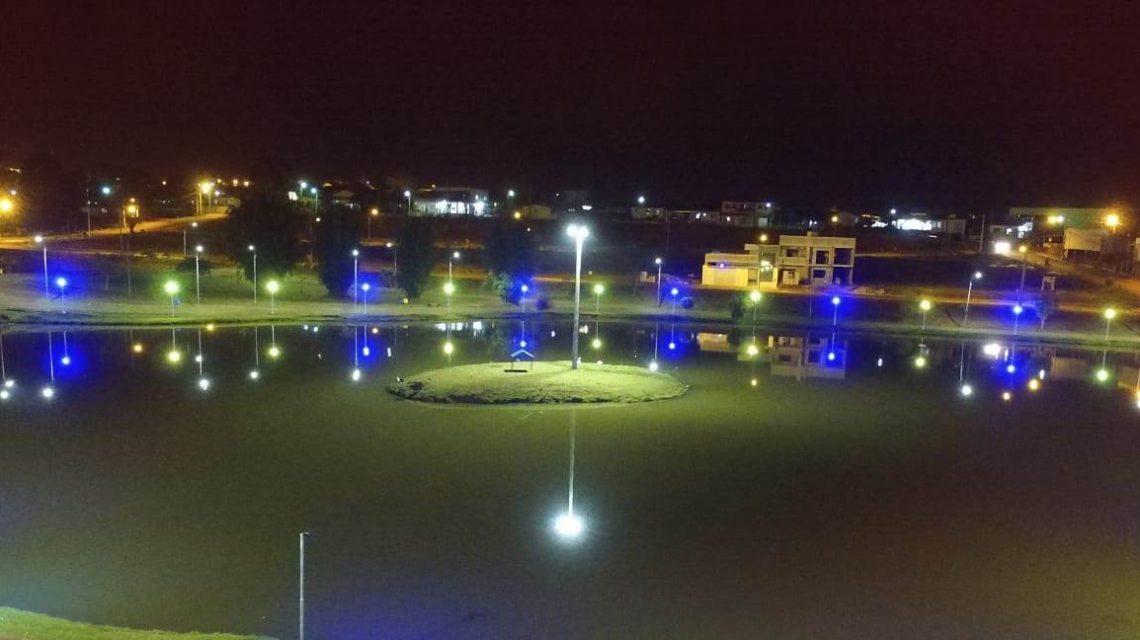 Parque Cidade Norte de Francisco Beltrão recebe lâmpadas em LED