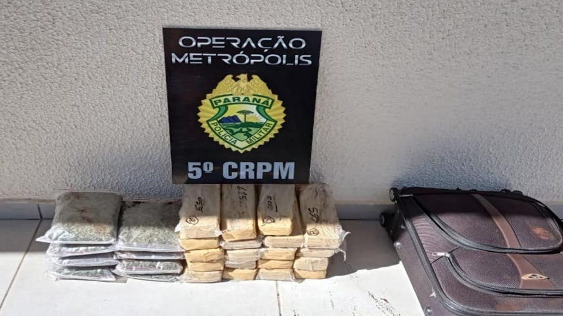 Operação Metrópolis: Maconha, crack e armas são apreendidas no Sudoeste