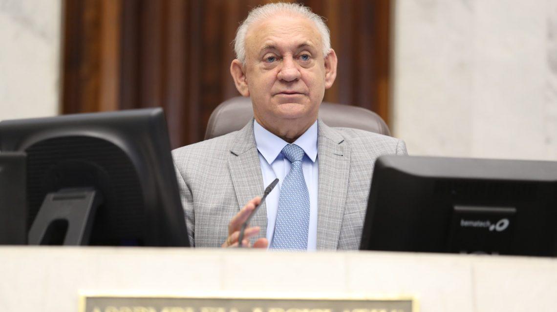 Traiano é reeleito presidente da Assembleia Legislativa do Paraná