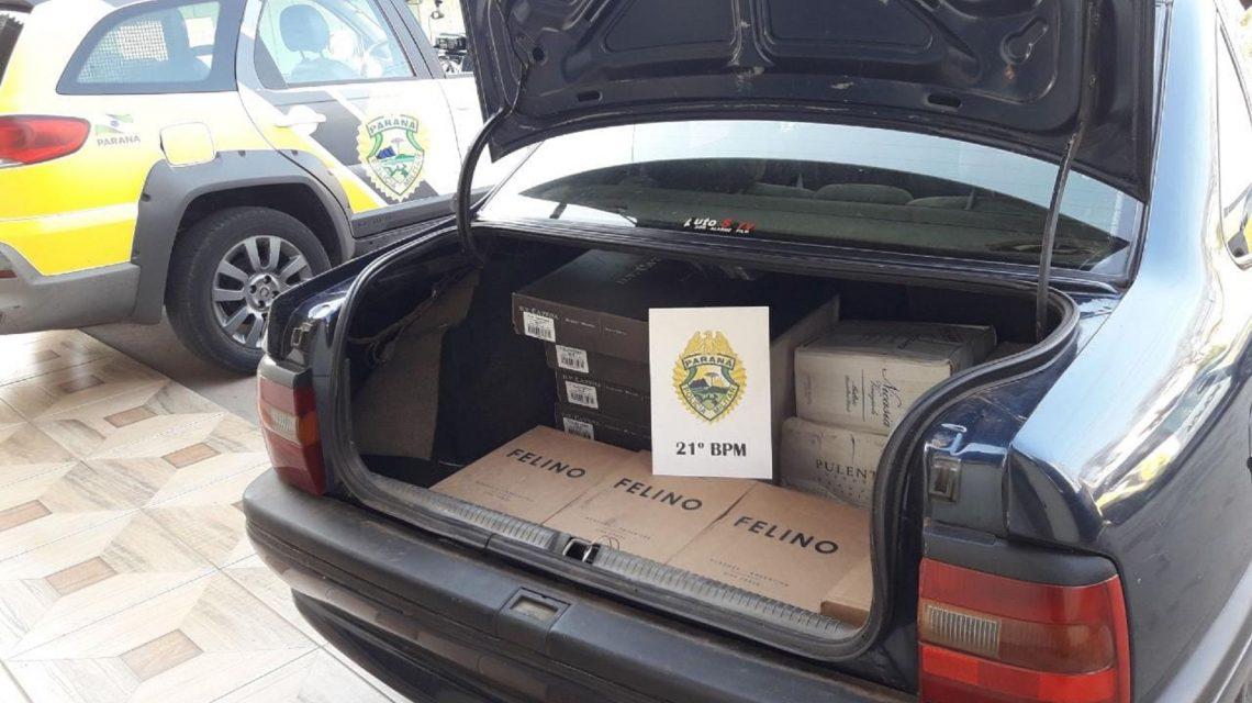 Homem de 45 anos é preso por descaminho em Marmeleiro