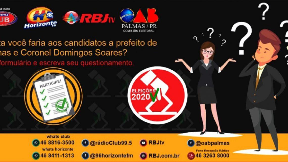 Rádios Club e Horizonte encerram coleta de questionamentos a candidatos da região