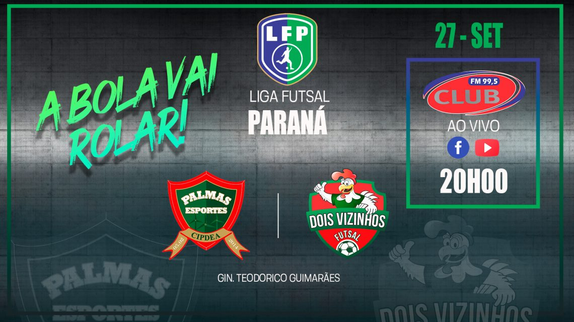 PalmasNet/Pref. de Palmas e Dois Vizinhos jogam domingo pela Liga Paraná