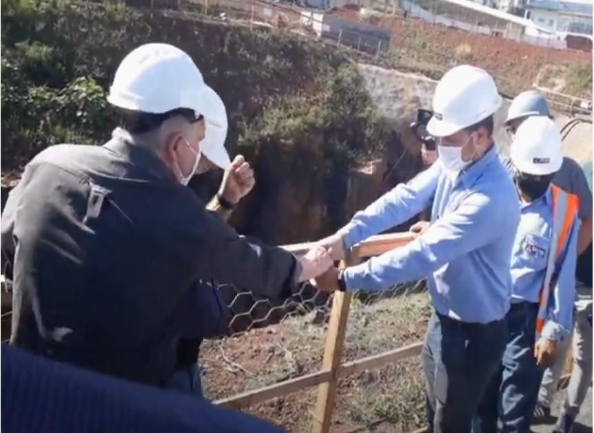 Concluída etapa do túnel na obra contra enchentes em Francisco Beltrão
