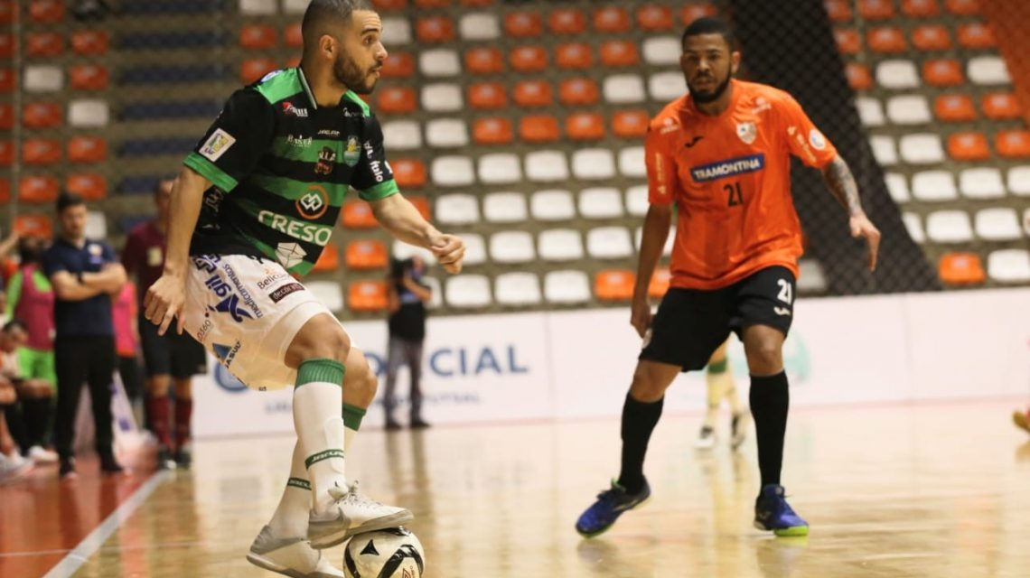Marreco vence o Carlos Barbosa pela Liga Nacional de Futsal