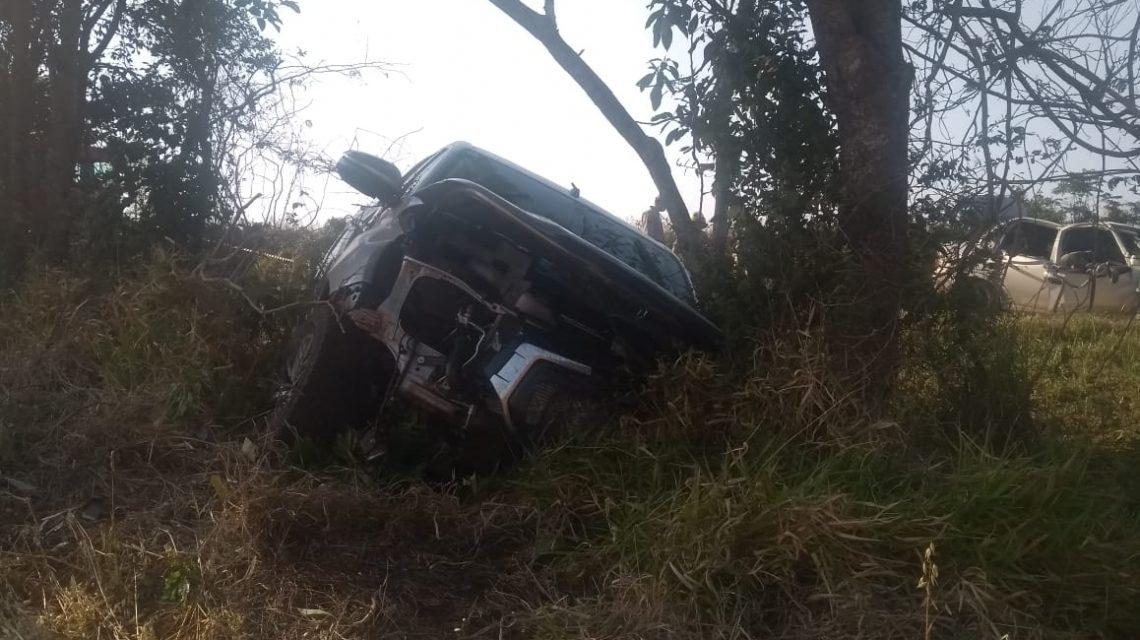 Duas pessoas morrem e três ficam feridas após acidente na BR 280