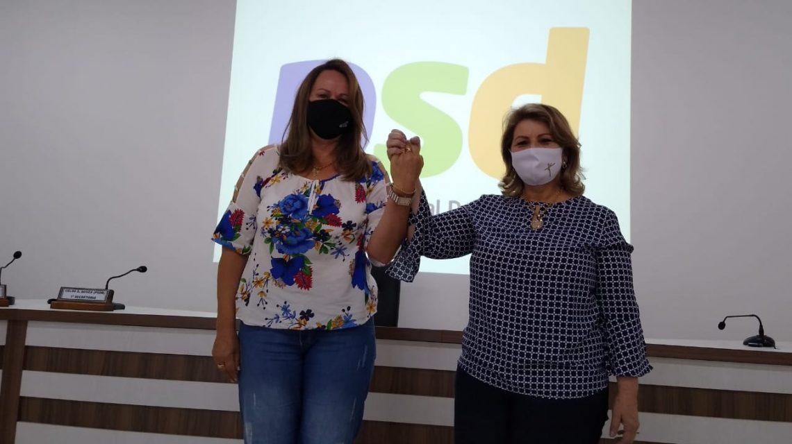 PSD e PV oficializam Dona Maria e Dona Ivone como candidatas à prefeitura de Cel. Domingos Soares