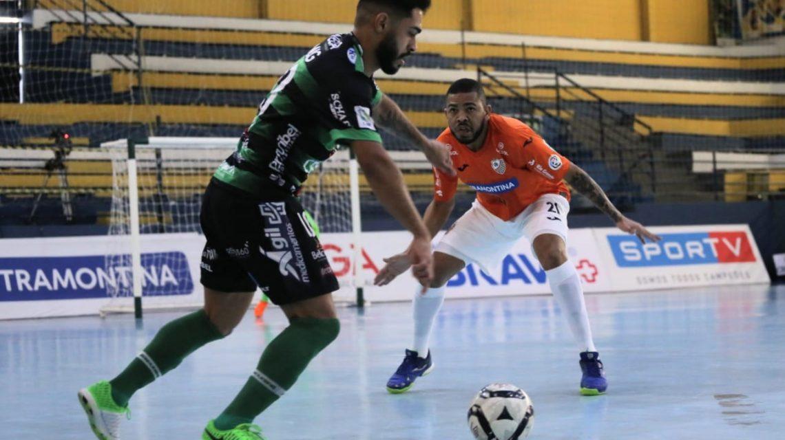 Marreco perde em casa para o Carlos Barbosa pela Liga Nacional