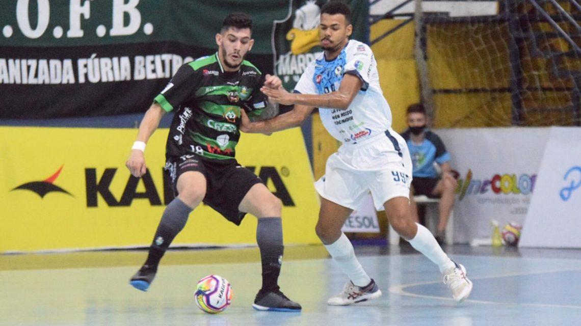 Marreco estreia com vitória na Liga Futsal Paraná