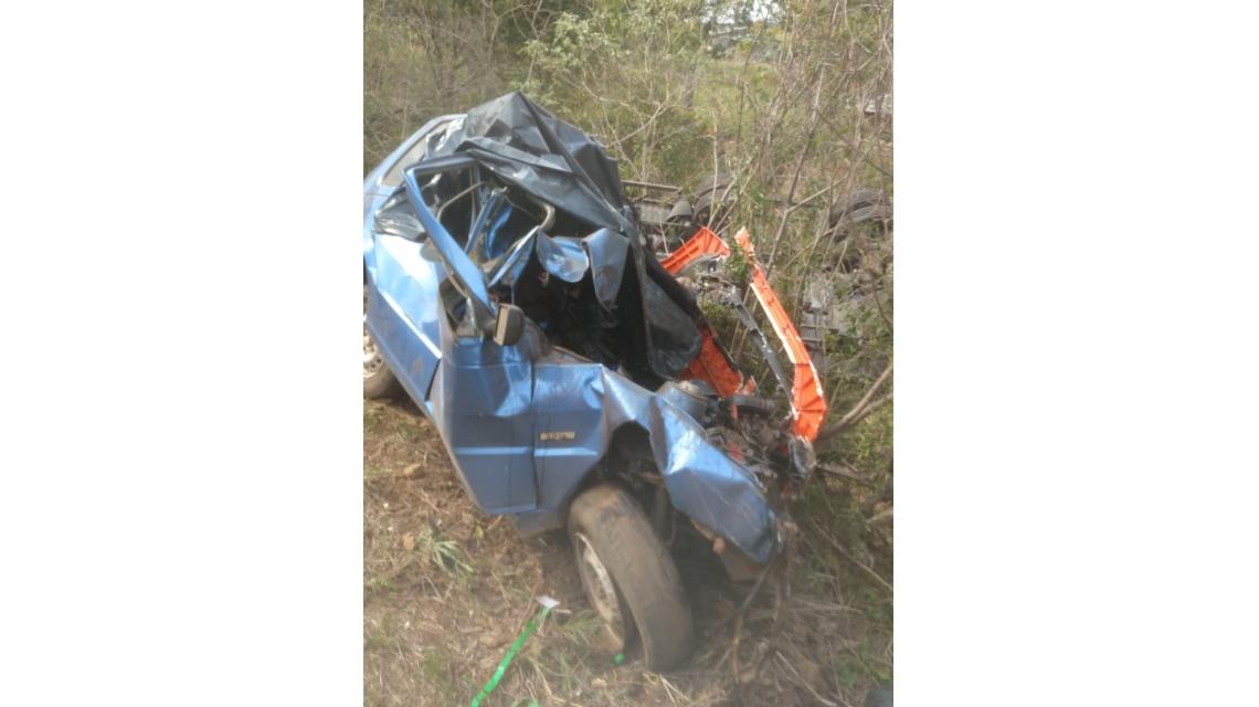 Acidente fatal é registrado na BR-282, em Passos Maia