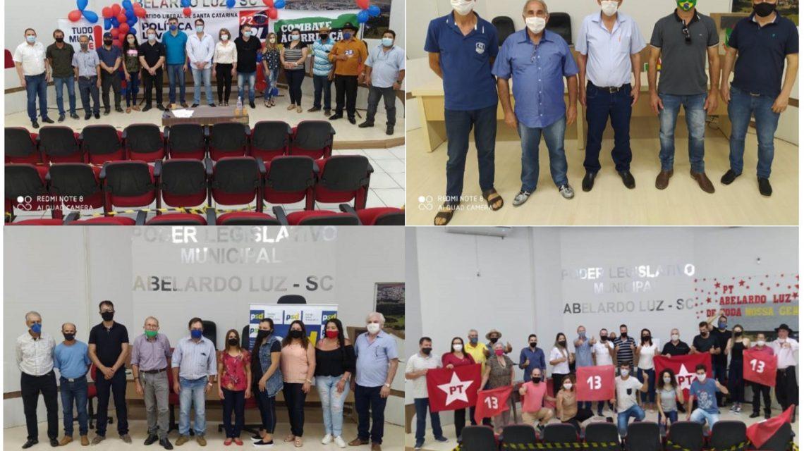 Abelardo Luz tem quatro nomes para a disputa da prefeitura municipal