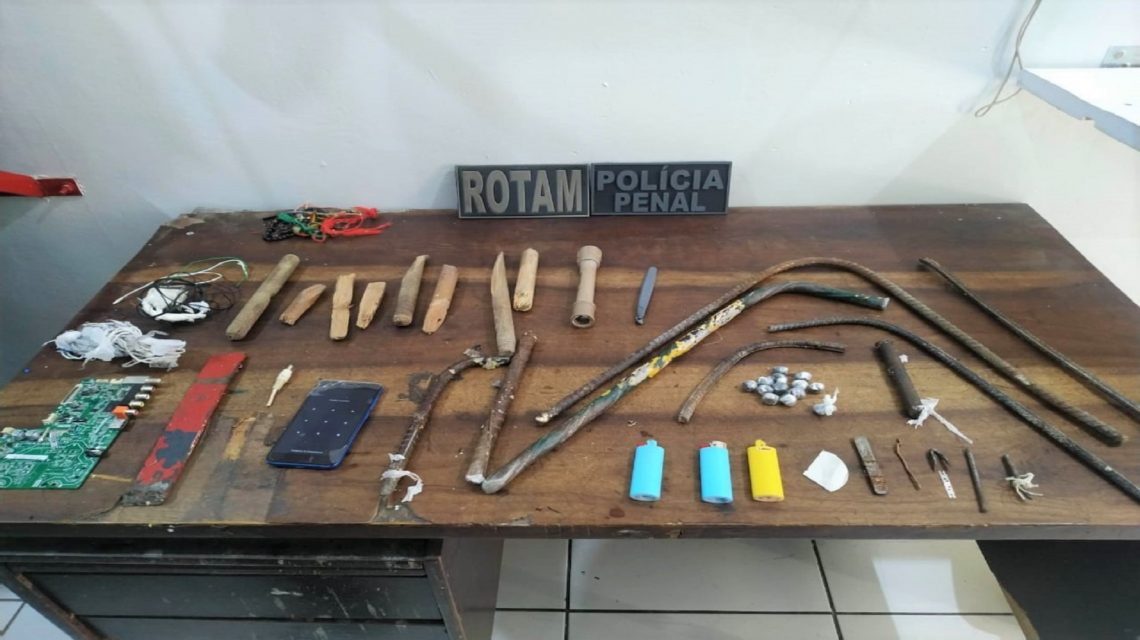 Equipe da Rotam faz Operação Bate Grade na 19ª SDP de Francisco Beltrão