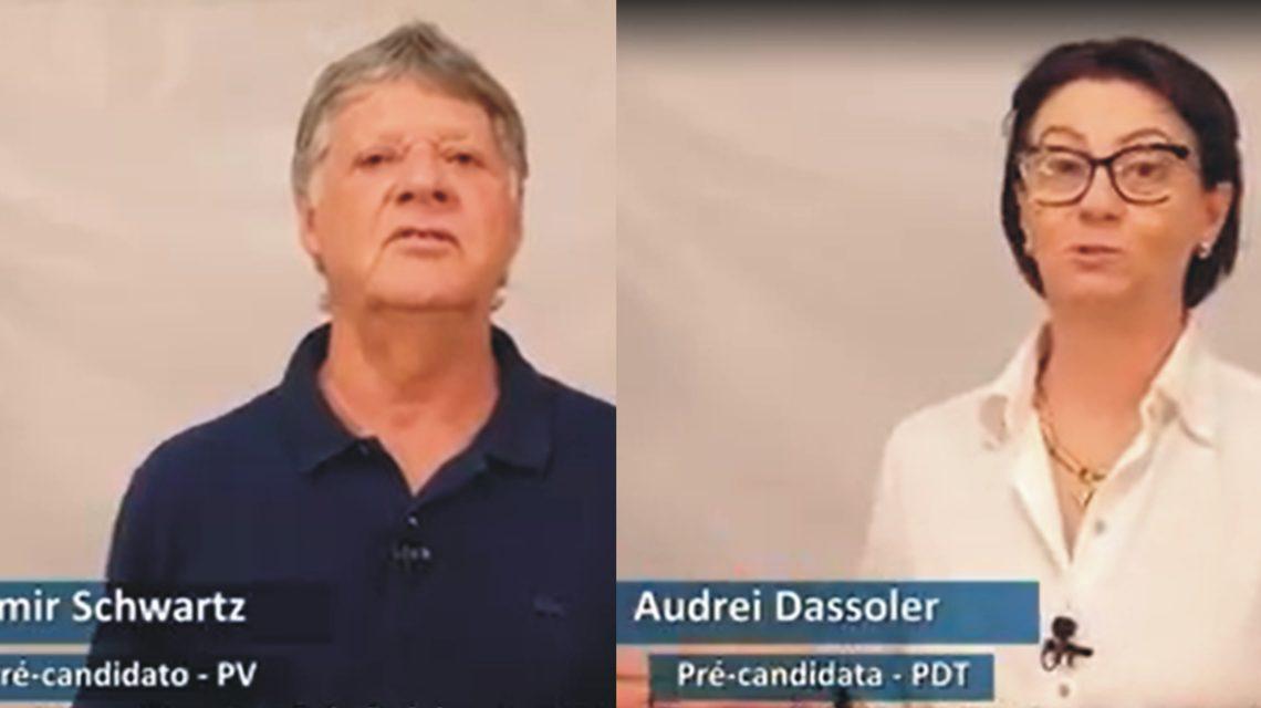 PDT e PV realizam convenção e lançam candidatos em Francisco Beltrão