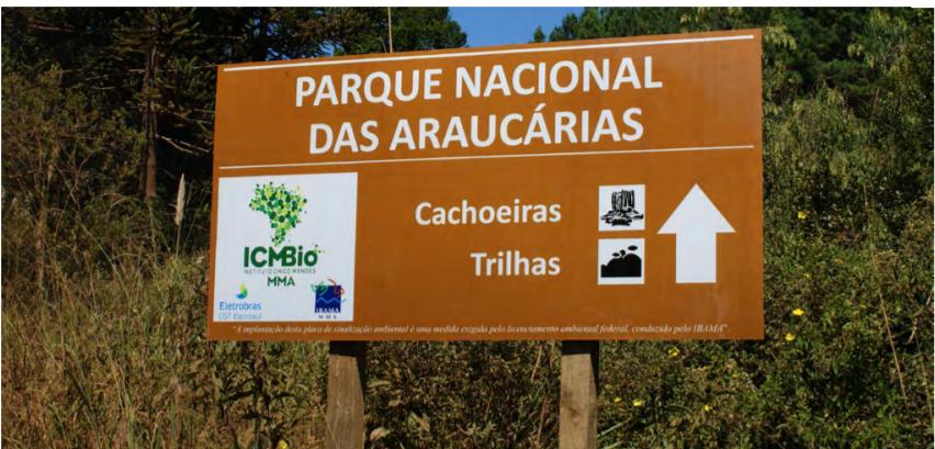 Unidades de Conservação da região recebem placas de sinalização
