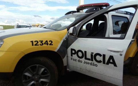 Rapaz de 24 anos é baleado por engano em Foz do Jordão
