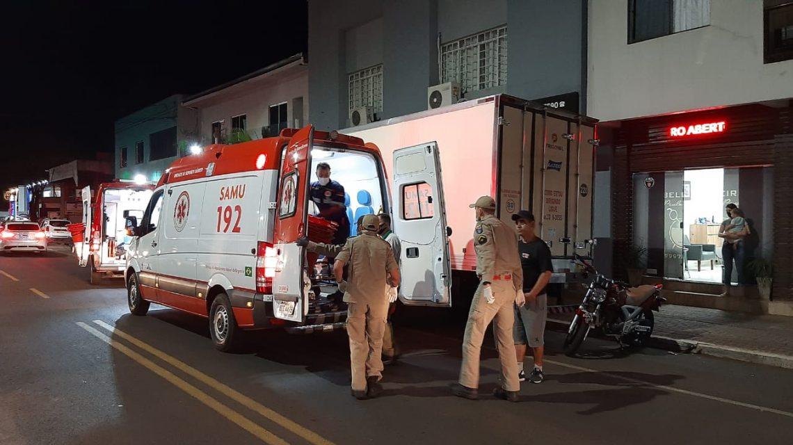 Mulher cai de prédio e fica gravemente ferida em Francisco Beltrão
