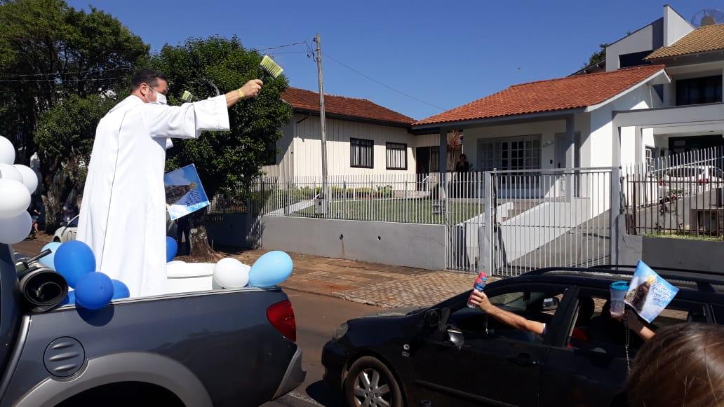Carreata marca as comemorações da padroeira do Brasil em Pato Branco