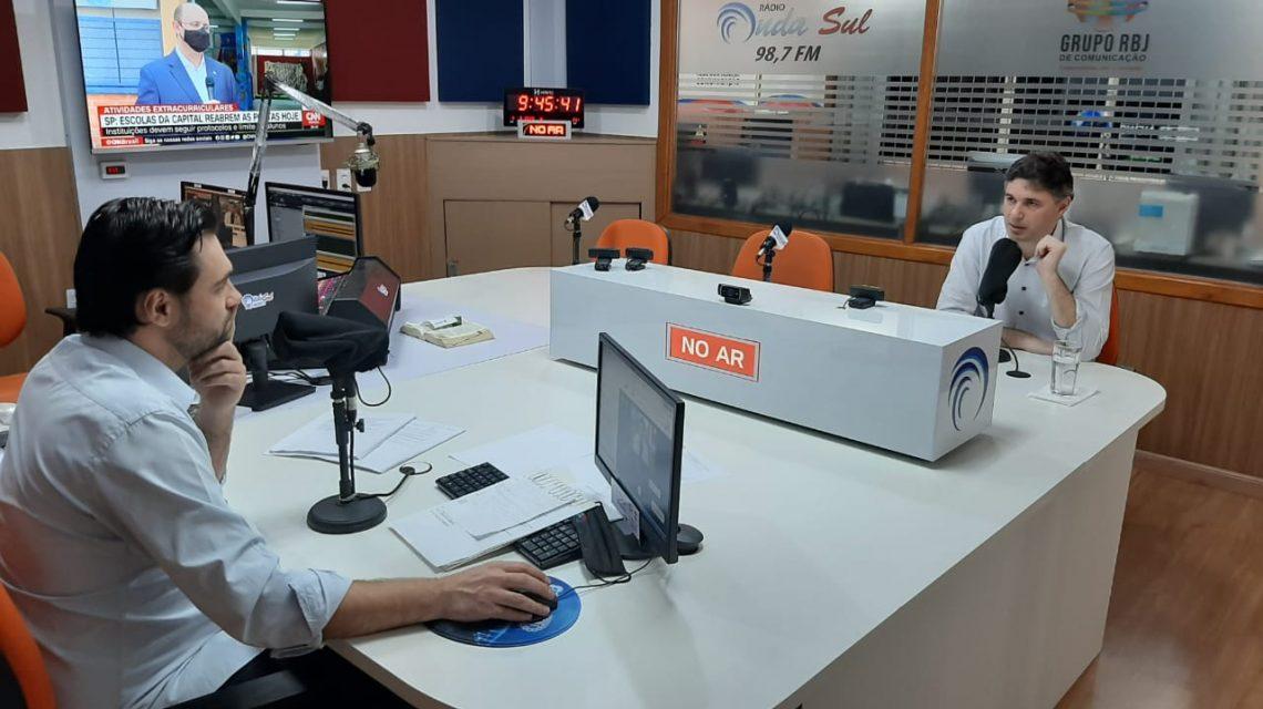 Onda Sul inicia entrevistas com candidatos à prefeitura de Francisco Beltrão