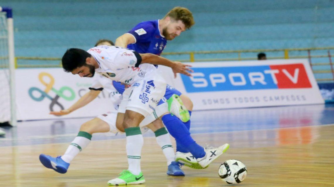 Marreco enfrenta o Blumenau em partida decisiva pela Liga Nacional de Futsal