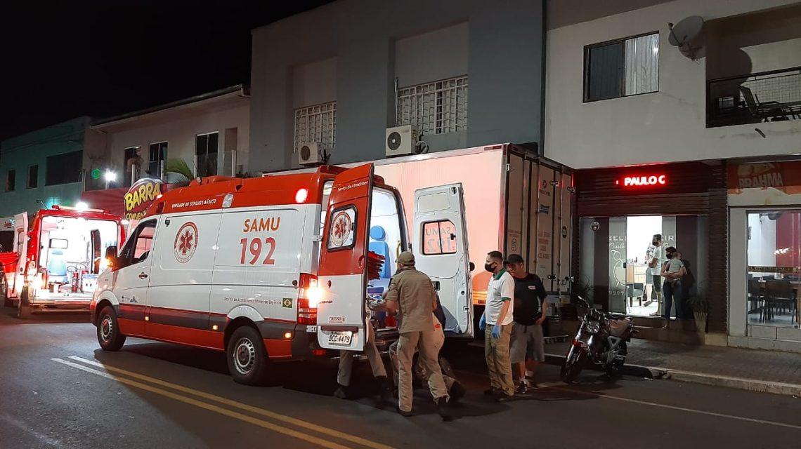 Mulher que caiu de prédio em Francisco Beltrão apresenta melhoras