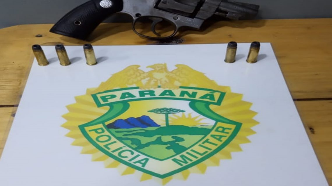 Arma de fogo é apreendida com adolescente em Rio Bonito do Iguaçu