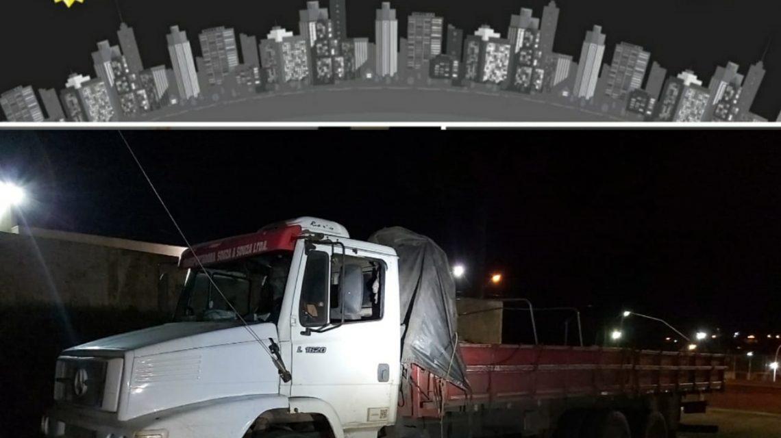 ROTAM apreende caminhão com carga de vinhos em Palmas
