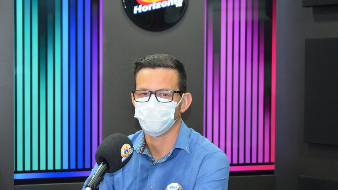 Horizonte FM entrevista candidato a prefeito de Palmas, Izaias Mikilita