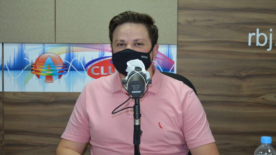 Dr. Ulisses foi o entrevistado desta quarta-feira na Rádio Club