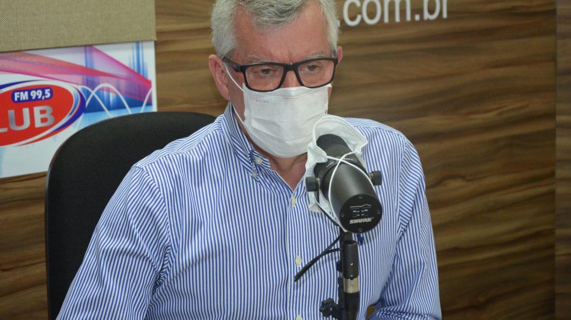 Dr. Kosmos foi o entrevistado desta quarta-feira na Rádio Club
