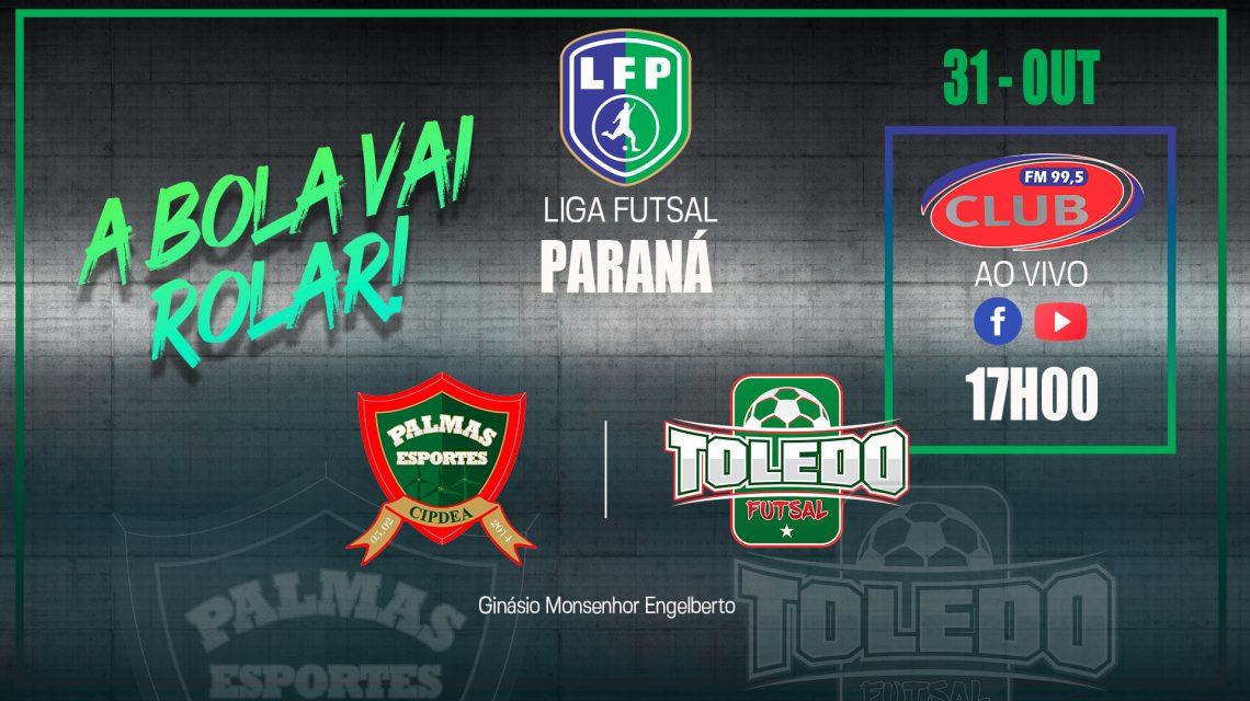 PalmasNet/Pref. de Palmas encara o Toledo hoje pela Liga Paraná