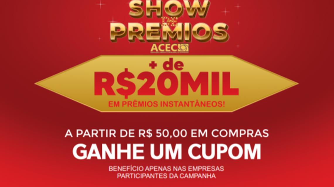 """Acec realiza promoção """"Show de Prêmios 2020"""" em Chopinzinho"""
