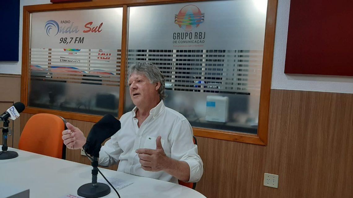Segundo candidato a prefeito de Francisco Beltrão é ouvido na Onda Sul