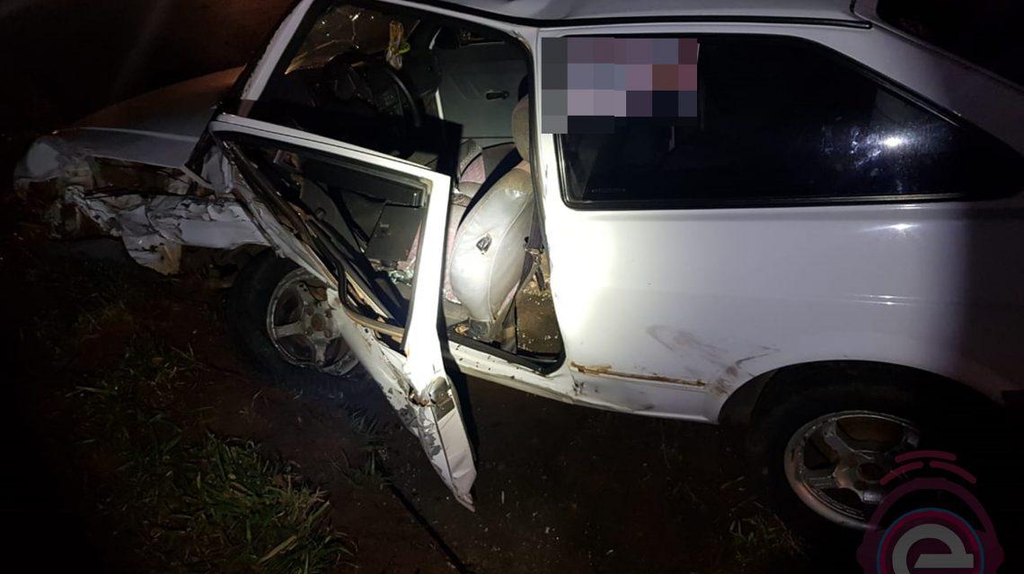 Acidente envolvendo quatro veículos deixa sete pessoas feridas na BR-373, em Candói