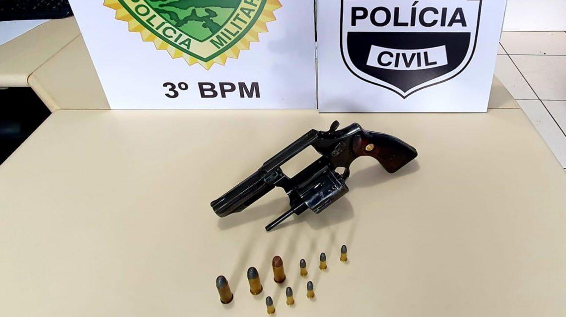 Homem é preso por posse ilegal de arma de fogo em Mangueirinha