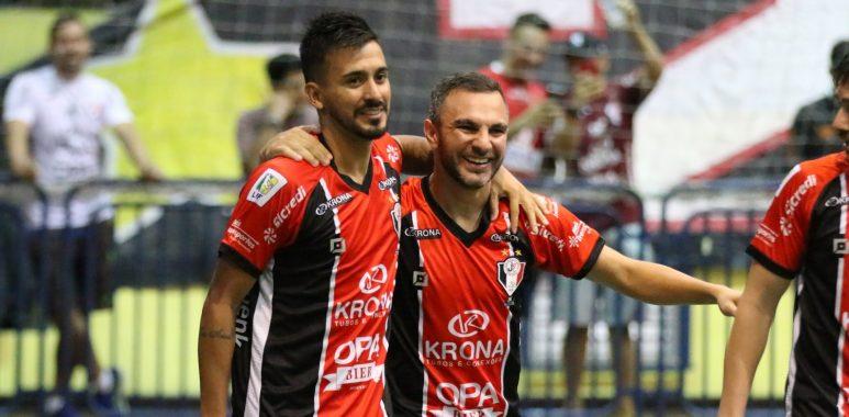 Marreco perde em Joinville pela Liga Nacional de Futsal