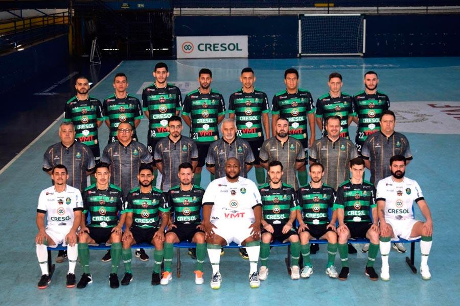 Marreco Futsal tem jogo decisivo pela série Ouro nesta quarta-feira