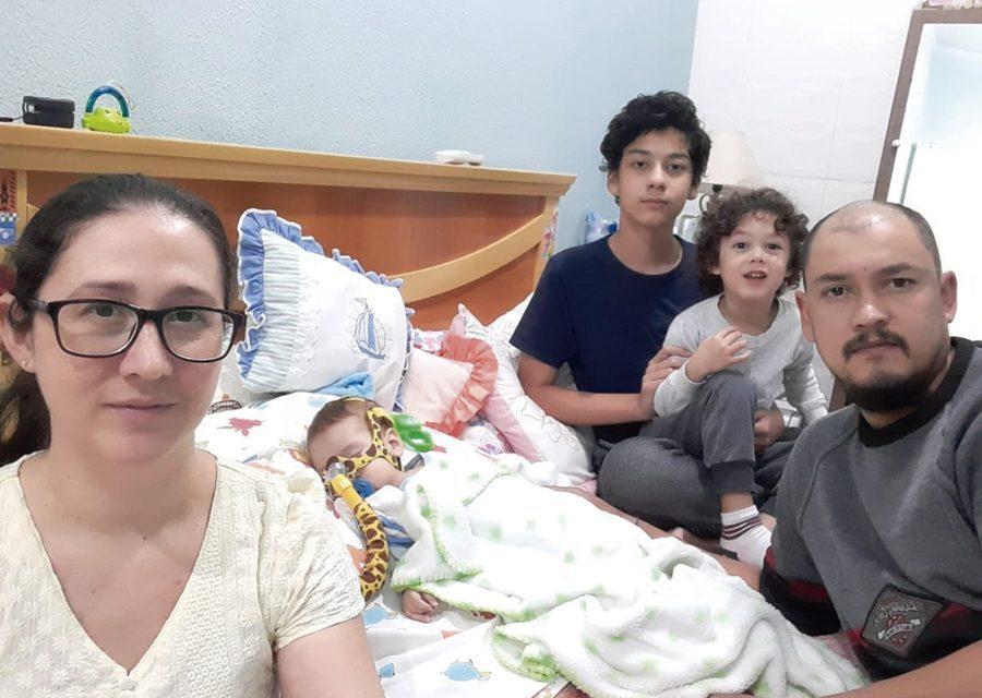 Bebê Valentim que sofre de AME é sorteado e consegue medicamento