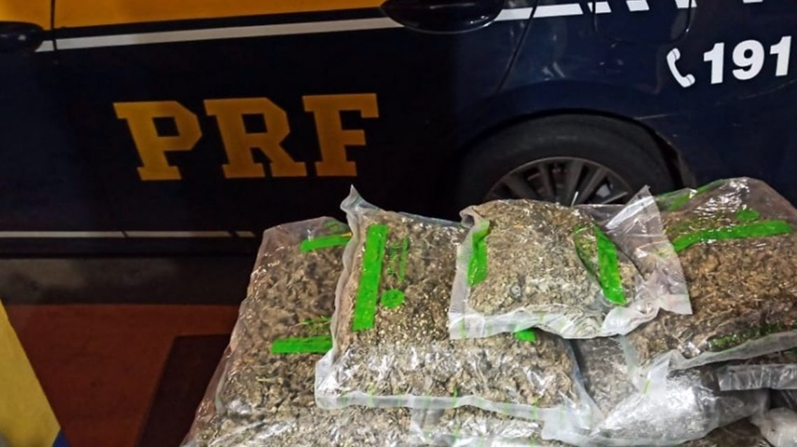 PRF prende dupla após perseguição de quase 30 km em Nova Laranjeiras