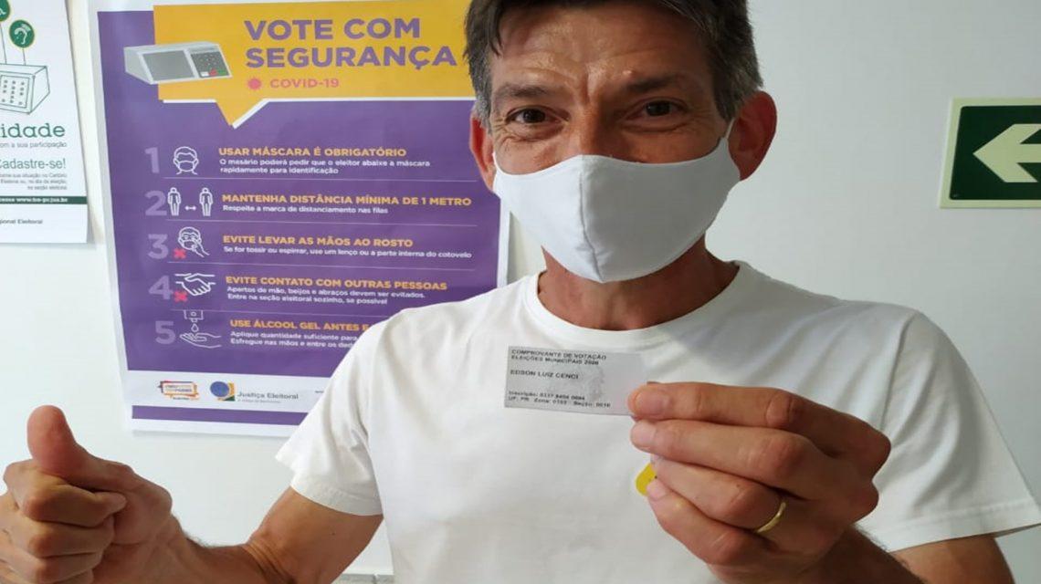 Edson Cenci do PSL é eleito prefeito em Chopinzinho